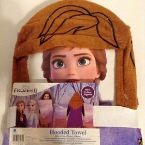 Frozen II Hooded Towel 22X51 Inches Ages 3+